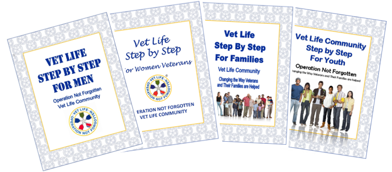 Step by Step Journals for Men Veterans Women Veterans Families and Youth